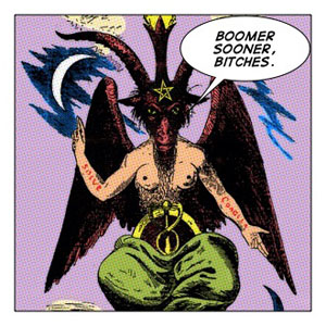 Baphomet,Satan,Prince of Darkness,Lucifer,devil